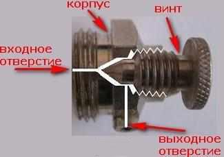 Как открыть клапан Маевского?