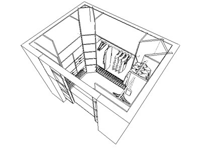 Как сделать гардеробную в спальне: пошаговая инструкция