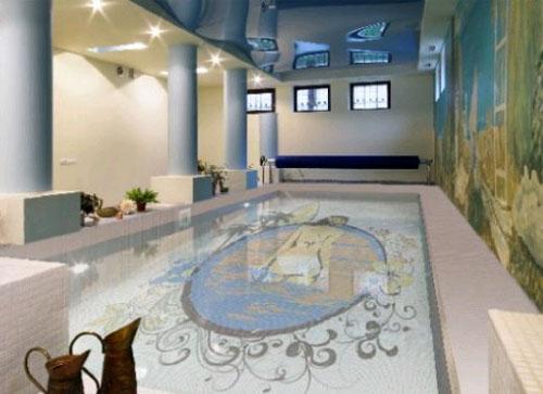 Мозаика в бассейне