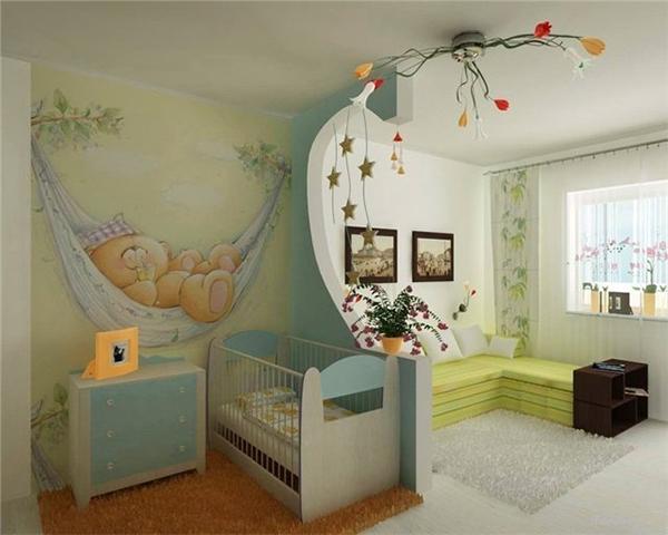 Разделить комнату на две зоны: приемы зонирования (фото)
