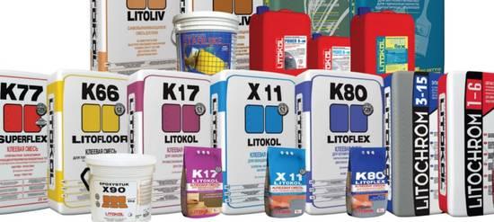 смеси Litokol