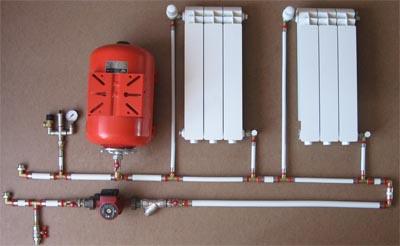 Особенности установки системы отопления