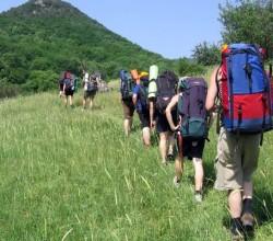 Пешеходный туризм в Крыму очень популярен