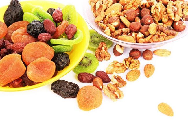 Выбор полезных продуктов для нашего организма. Орехи и рыба