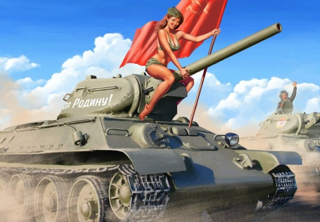 Популярная игра World of Tanks Blitz