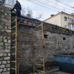 Капремонт подпорной стены на улице Луначарского завершается