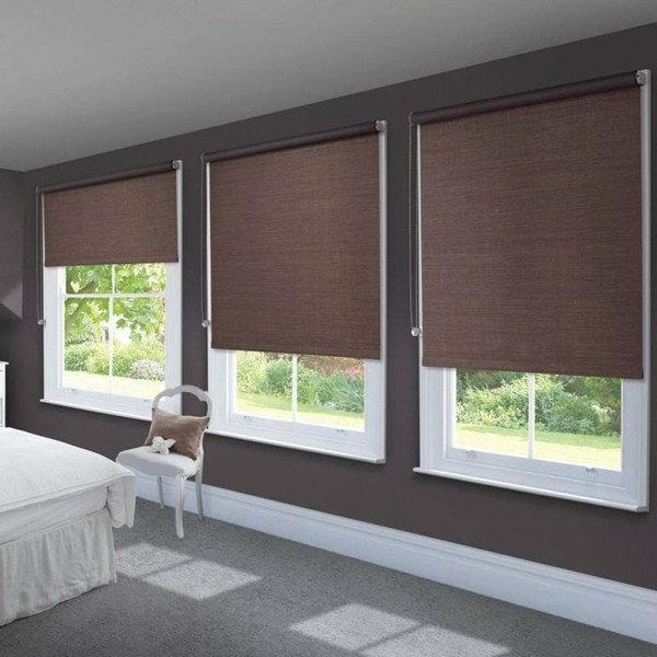Рулонные шторы – модная идея для разных интерьерных стилей