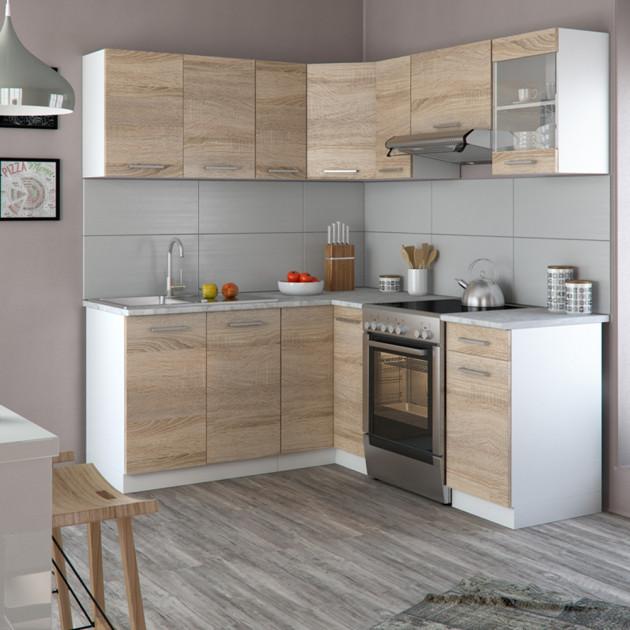 Угловая кухня – оптимальное решение для современного пользователя
