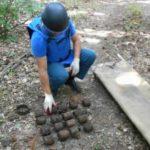 Бомбы времен ВОВ обнаружены в Ленинском районе Крыма