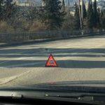 Человек пострадал в результате ДТП на автодороге Ялта-Севастополь