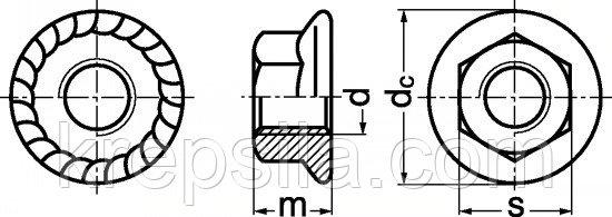 Гайки с фланцем — где и зачем они используются?