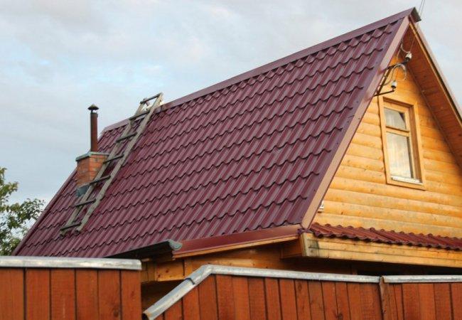 Металлочерепица — самое популярное покрытие для крыши в Одессе