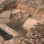 На 35-й батарее в Севастополе нашли бетонный массив царских времён