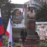 В Крыму установили памятник Доктору Лизе