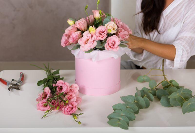 Коробки для цветов и флористики