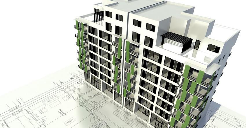 Принятие правильных технических решений для выполнения проектирования зданий