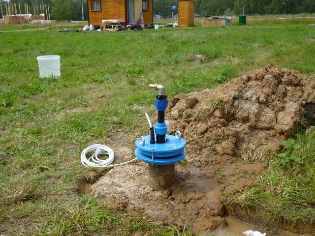 Обеспечение водой для питья и бытовых нужд. Бурение скважины