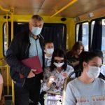 В общественном транспорте Ялты проверили соблюдение масочного режима