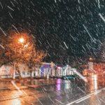 В понедельник на Крым обрушится мокрый снег и сильный ветер