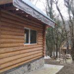 Несколько двухэтажных деревянных домов «выросли» в Байдарском заказнике