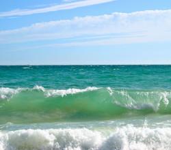 Средний показатель солености Черного моря (18 промилле)