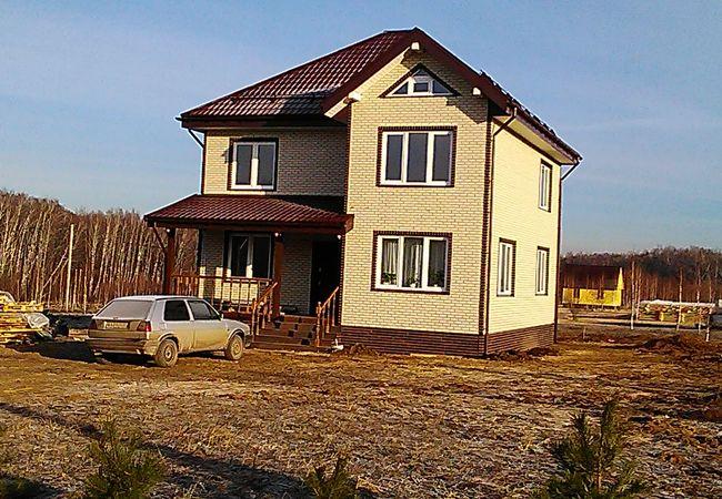 Строительство домов под ключ в Крыму с индивидуальным проектом, недорого