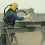 Пескоструйная обработка поверхности