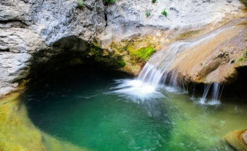 Озеро Кара голь Крым