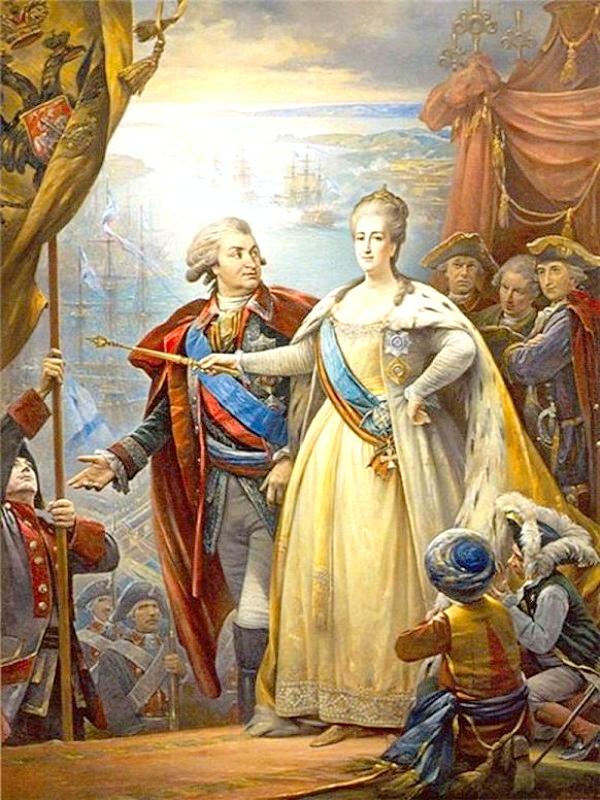 Потемкин и Екатерина - 2