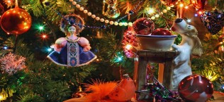Новогодние украшения ёлки