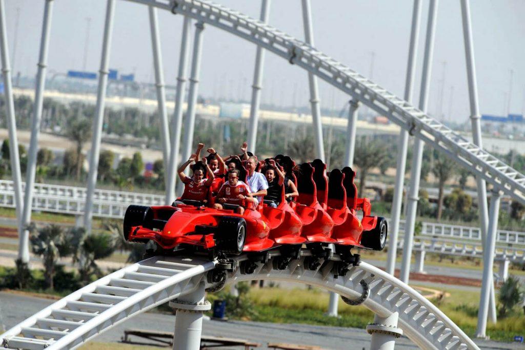 Тематический парк Ferrari World: это надо увидеть своими глазами