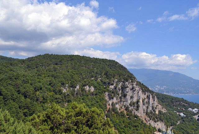 Гора Ай-Никола, Крымские горы