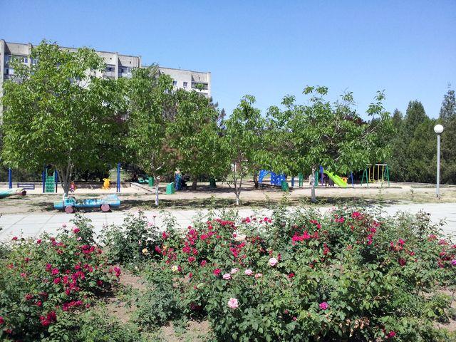 Детская площадка в Армянске