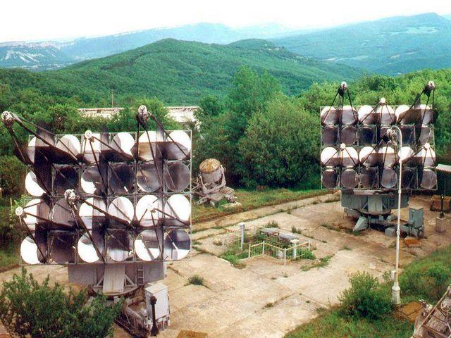 Гамма-телескоп крымской астро-физической обсерватории