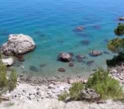 Пляж на мысе Айя