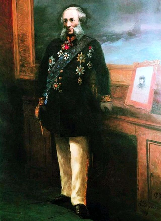 Айвазовский - автопортрет