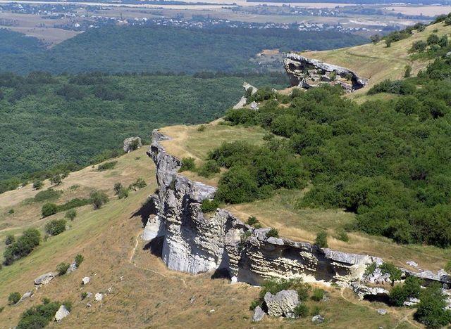 Древнне городище Бакла . Крым