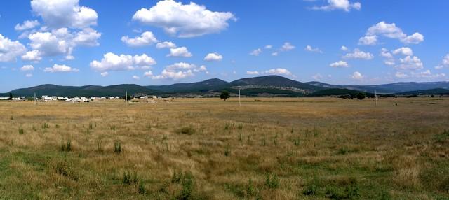 Байдарская долина, панорама