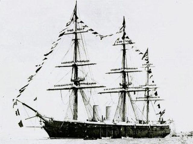Винтовой пароход «Черный Принц»