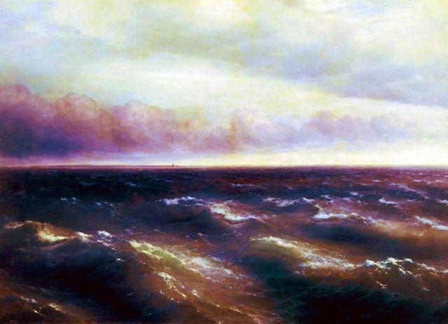 И.К.Айвазовский. Чёрное Море.1881
