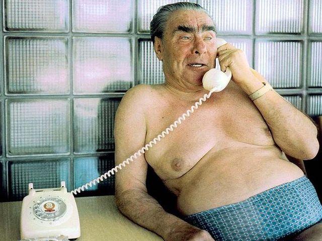 Товарищ Брежнев на отдыхе