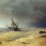 Картина Айвазовского «Буря»