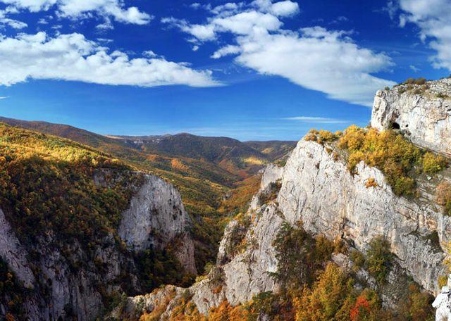 Большой каньон. Крымские горы