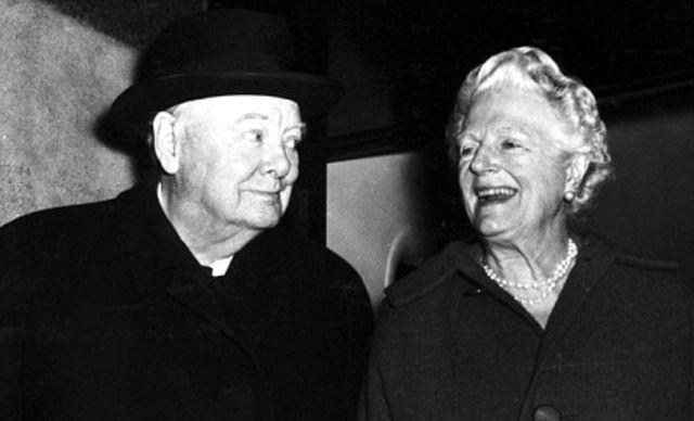 Уинстон и Клементина Черчилль