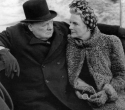 Клементина и Уинстон Черчилль