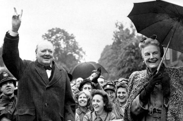 Супружеская чета Черчилль