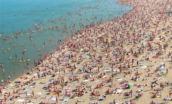 Крымский пляж, ЮБК