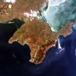 Крым из космоса