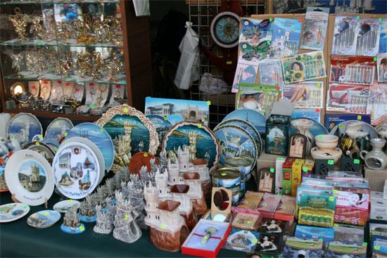 Разнообразные крымские сувениры