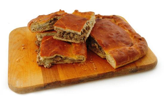 Кубете - пирог с мясом и картошкой